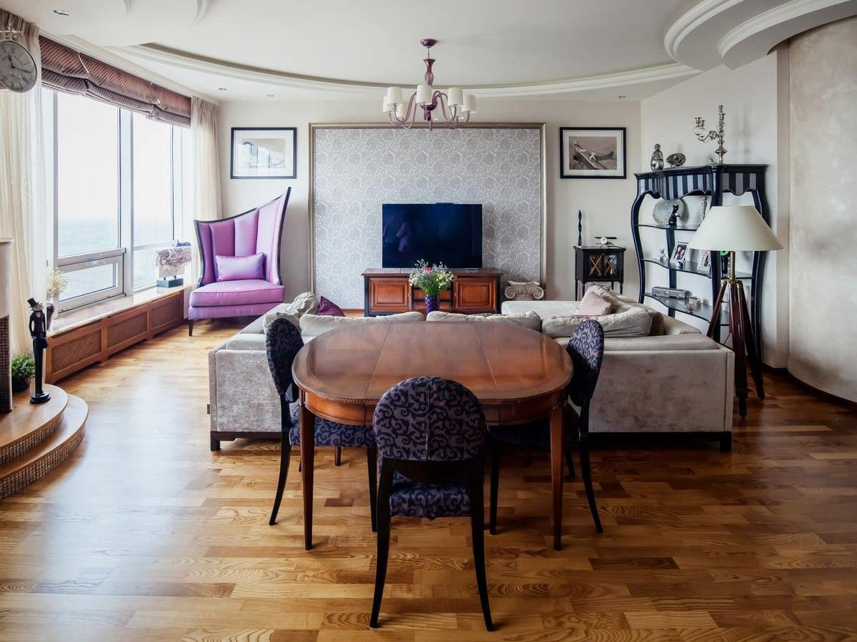Элитная квартира в ЖК «Аэробус» в Москве