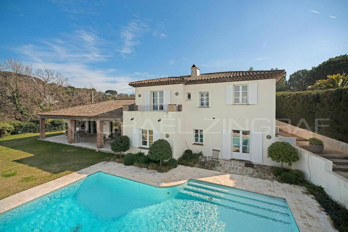 Элитная недвижимость Франции — поместье в Сен-Тропе