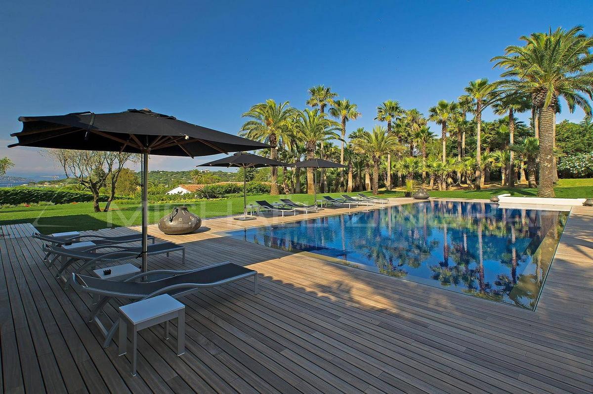 Элитная недвижимость Франции— роскошная вилла в Сен-Тропе