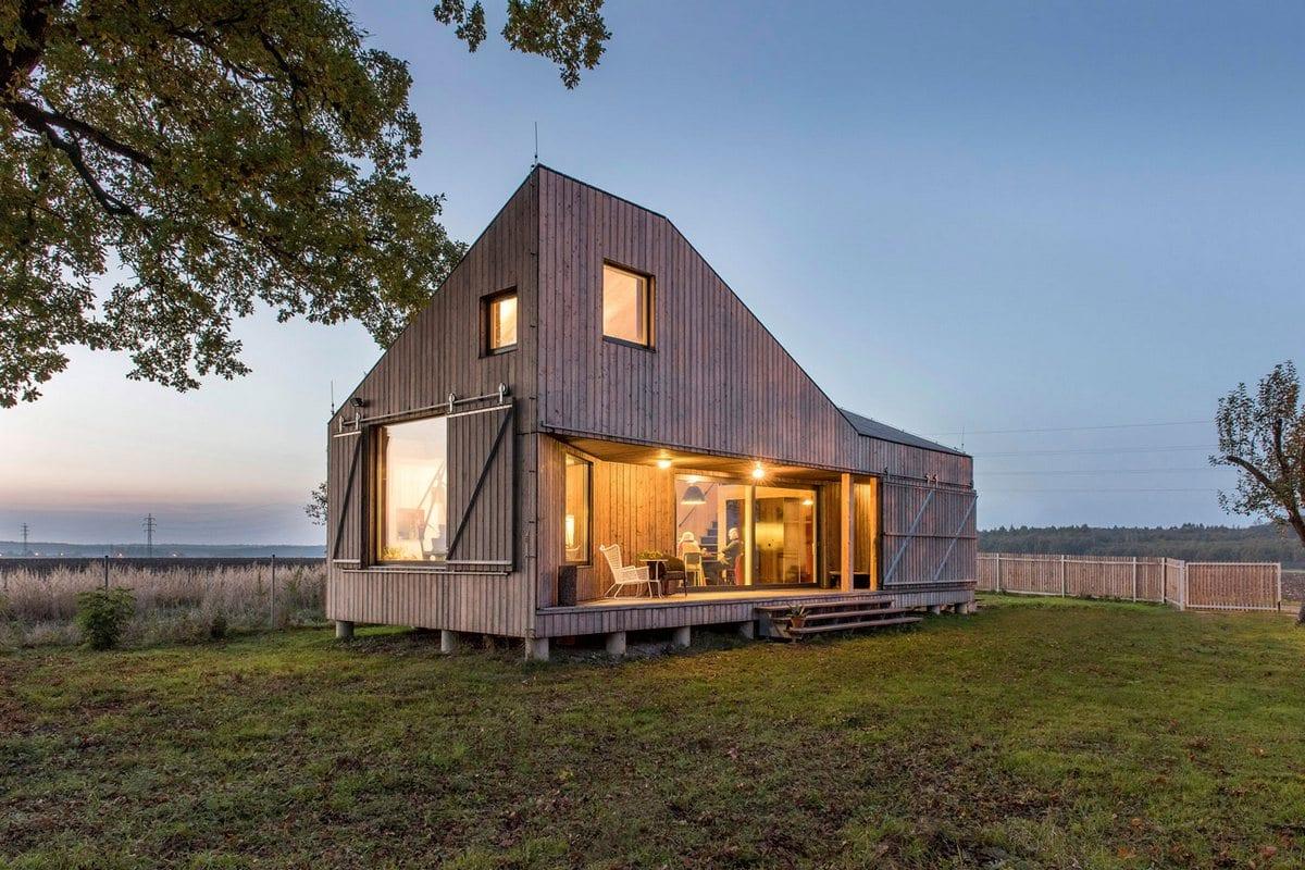 Энергоэффективный дом в Чехии