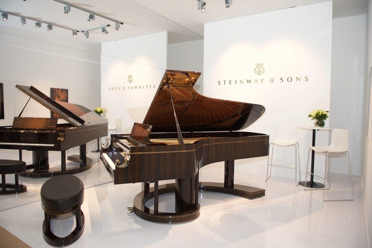 Фортепиано Фибоначчи от Steinway & Sons и Фрэнка Полларо