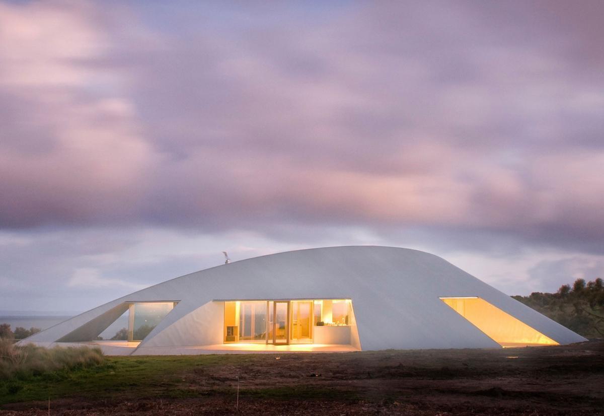 Футуристичный частный дом Croft в Австралии