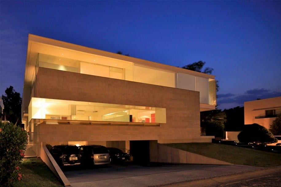 Godoy House в Мексике от Hernandez Silva Architects