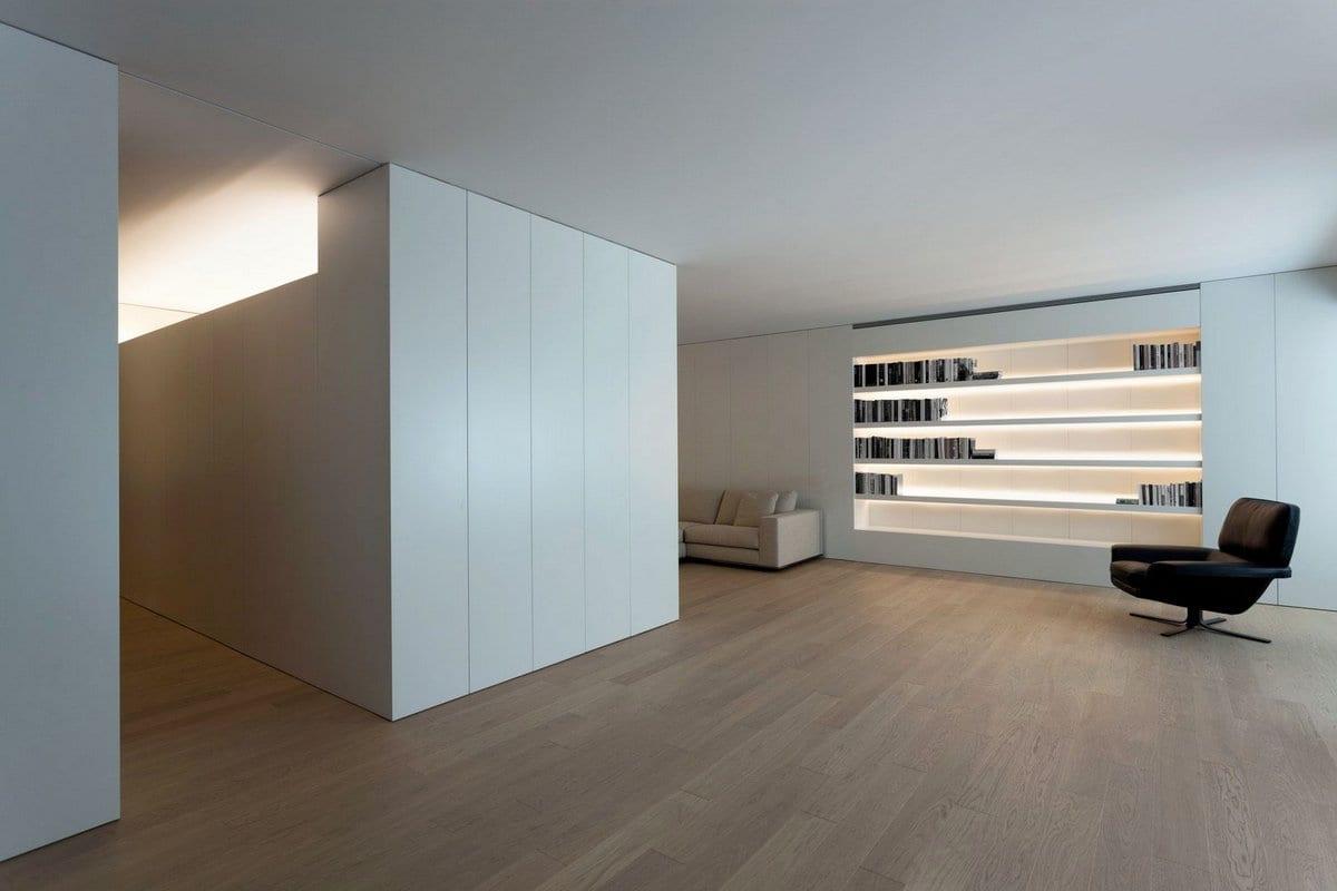 Игра света и тени в интерьере квартиры в Испании