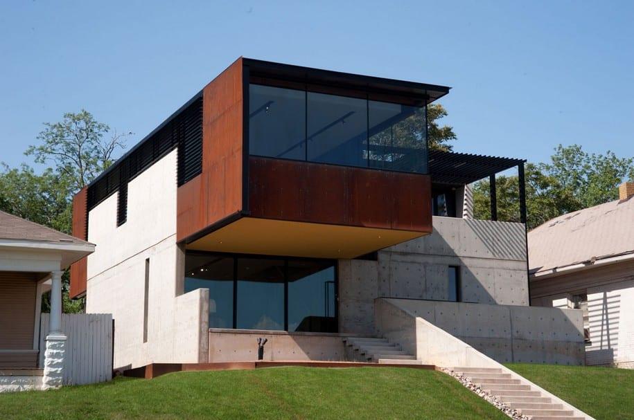 Дома с интересным дизайном