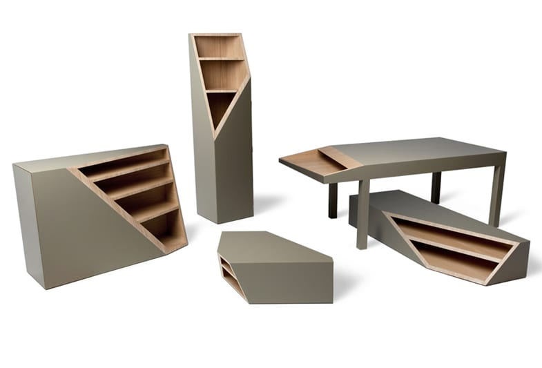 Коллекция мебели Cutline от Алессандро Бусана