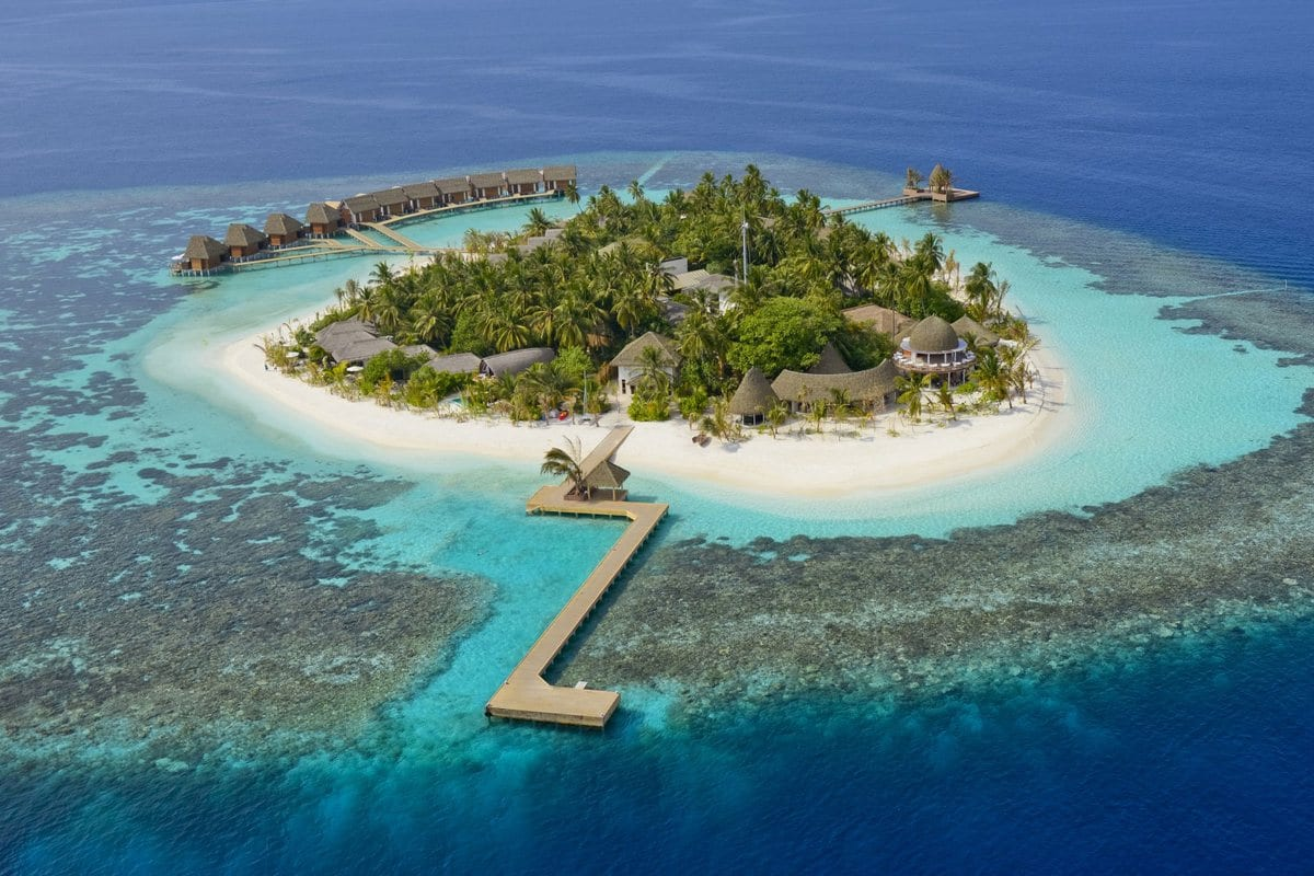 Kandolhu Island, обзор отеля Kandolhu Island, лучшие отели на Мальдивах, Kandolhu Island - лучший отель для молодоженов