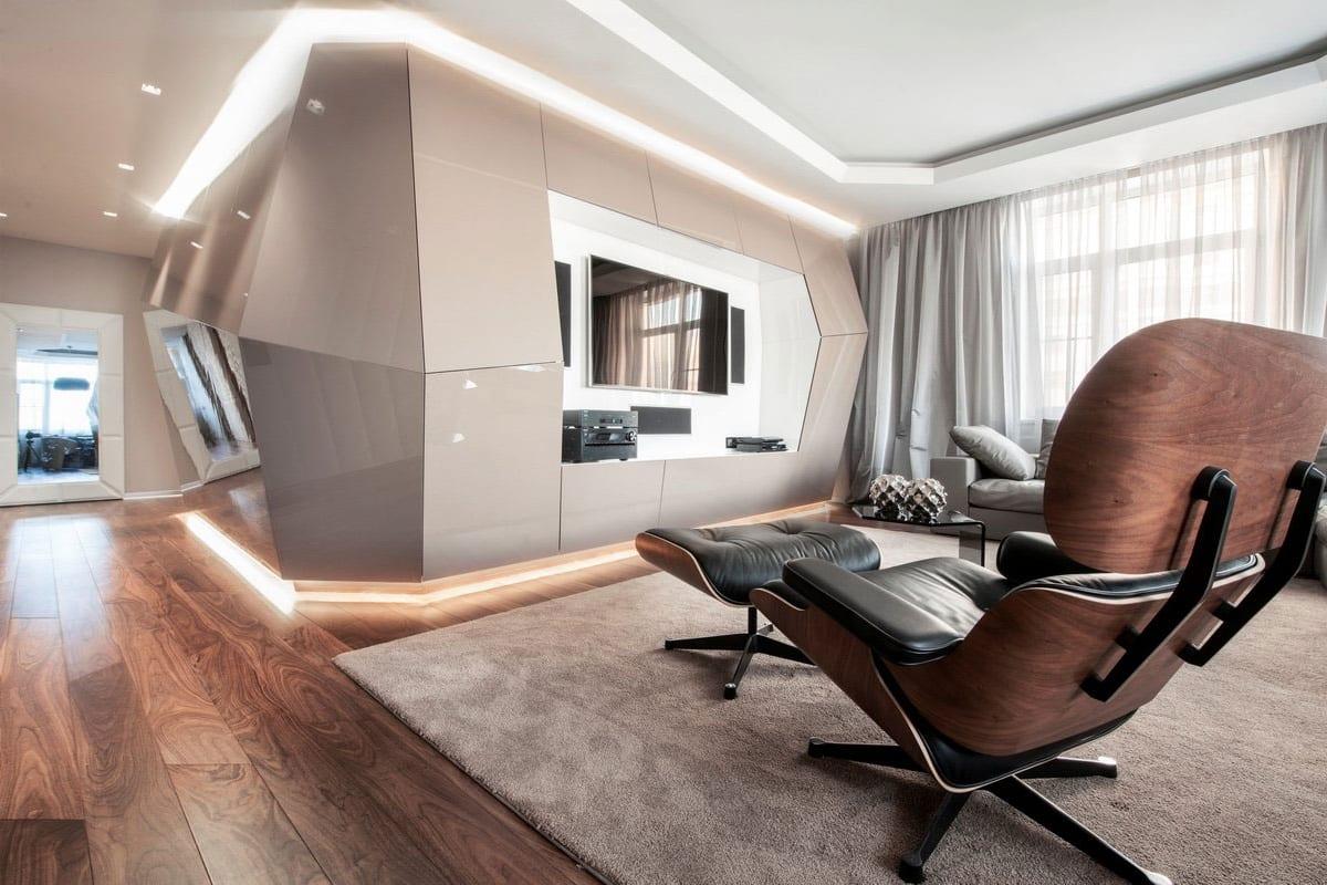 Квартира от Geometrix Design в ЖК Доминион в Москве