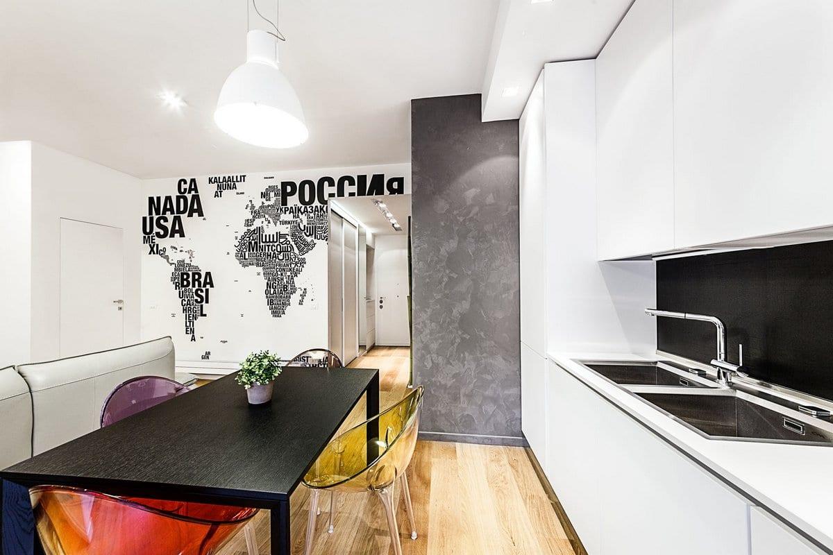 Brain Factory, квартира в Риме, светлая квартира интерьер фото, красивые квартиры фото, светлый интерьер квартиры, элитные квартиры фото