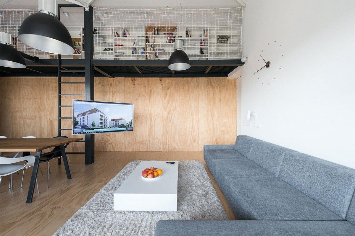 Квартира в стиле лофта в Братиславе