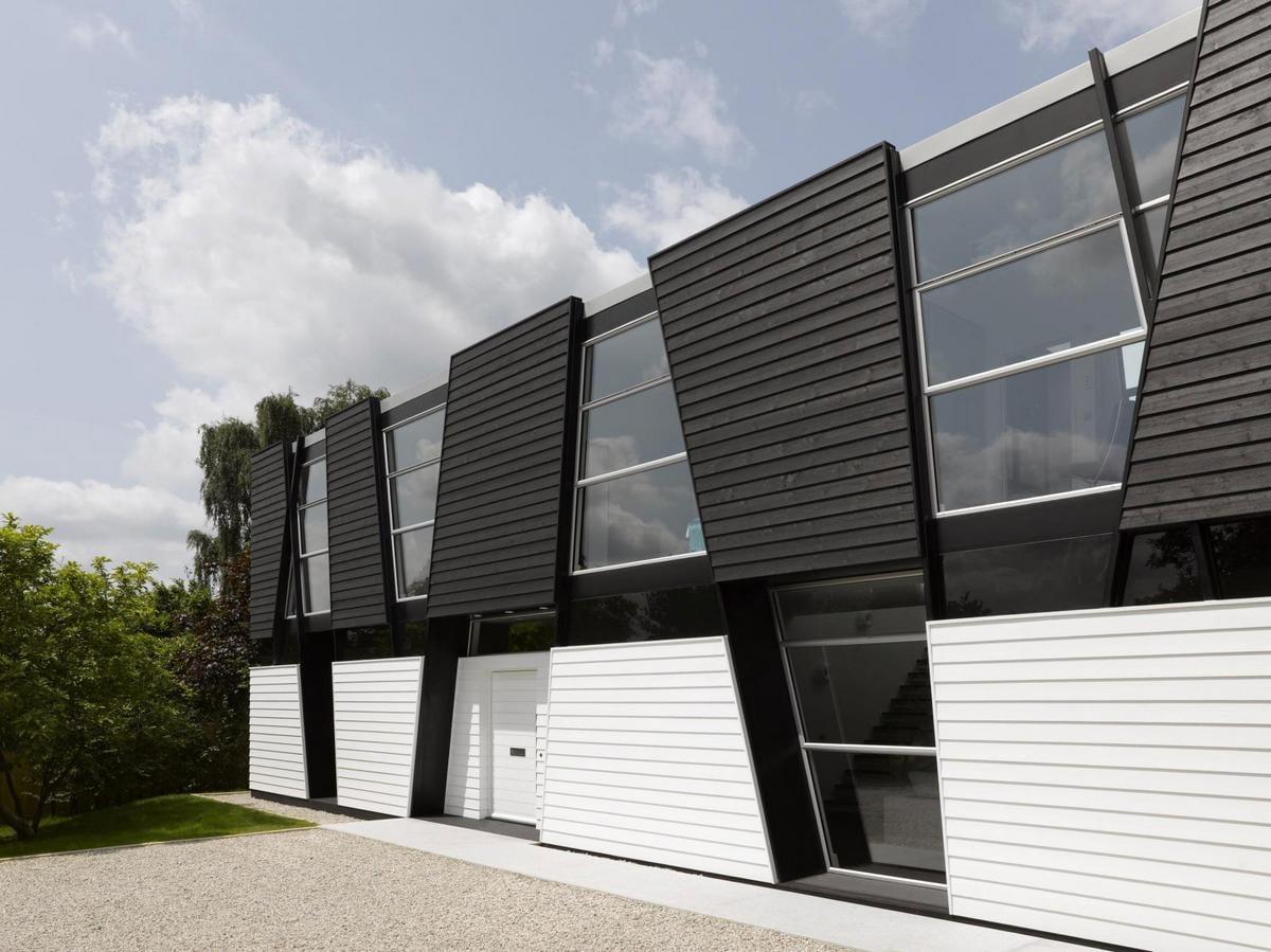 Ломаный дизайн Trish House от Мэтью Хэйвуда в Англии