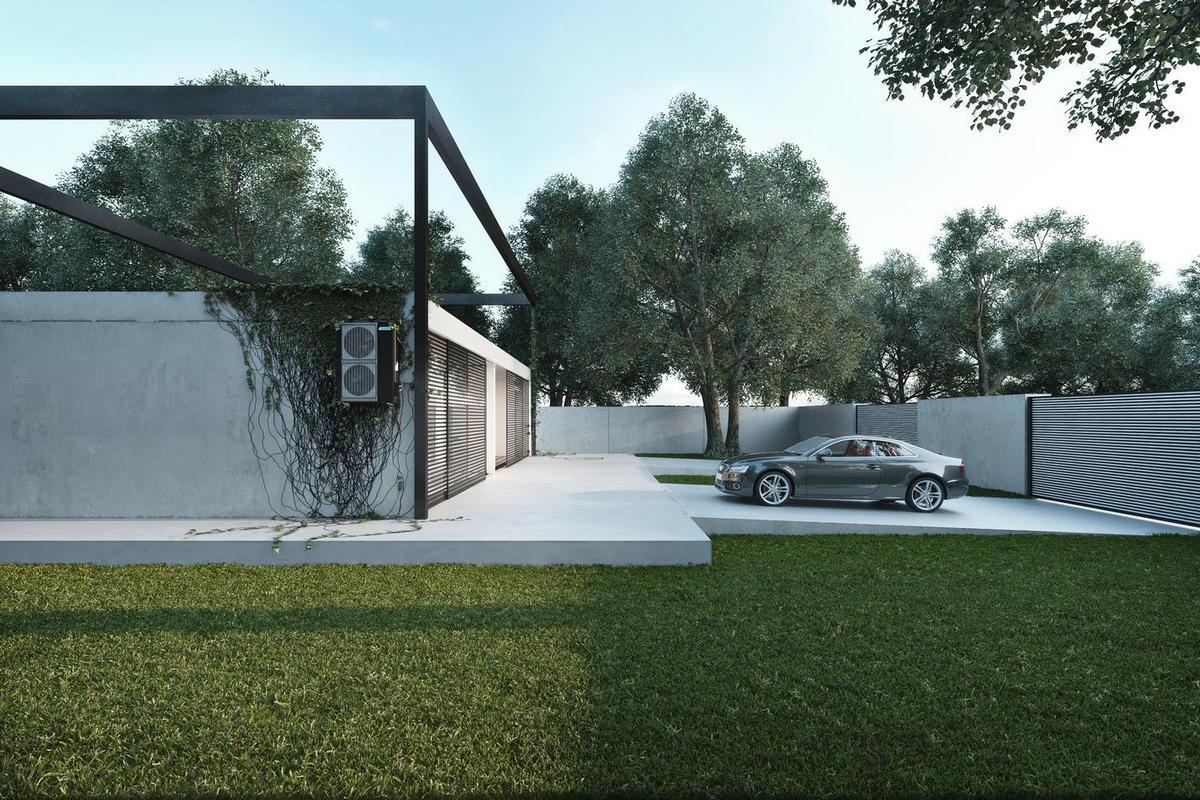 Минимализм в проекте частного дома Frame от Игоря Сиротова