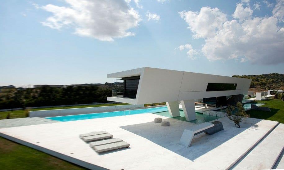Настоящая роскошь выглядит именно так — особняк H3 в Греции