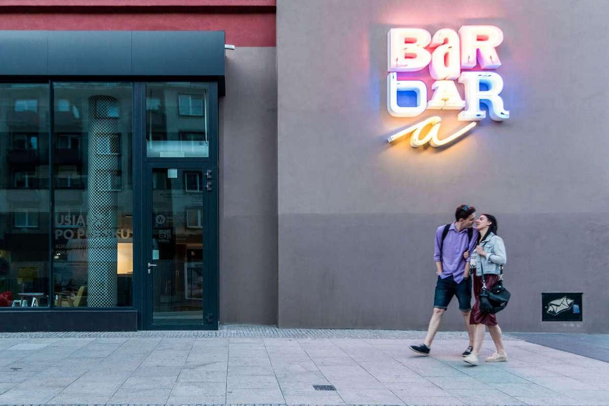 Новый облик старого бара во Вроцлаве