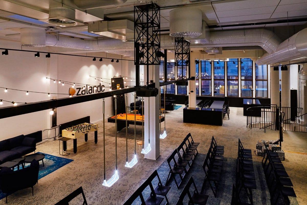Офис компании Zalando в Хельсинки