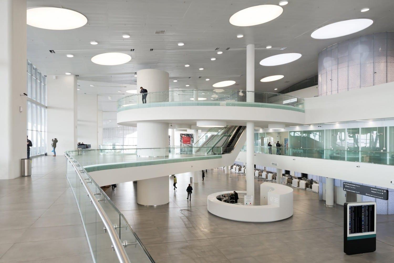 Nefa Architects, Курумоч, аэропорт Курумоч, интерьер аэропорта Курумоч, новый терминал Курумоча, проекты Nefa Architects, аэропорт Самара фото
