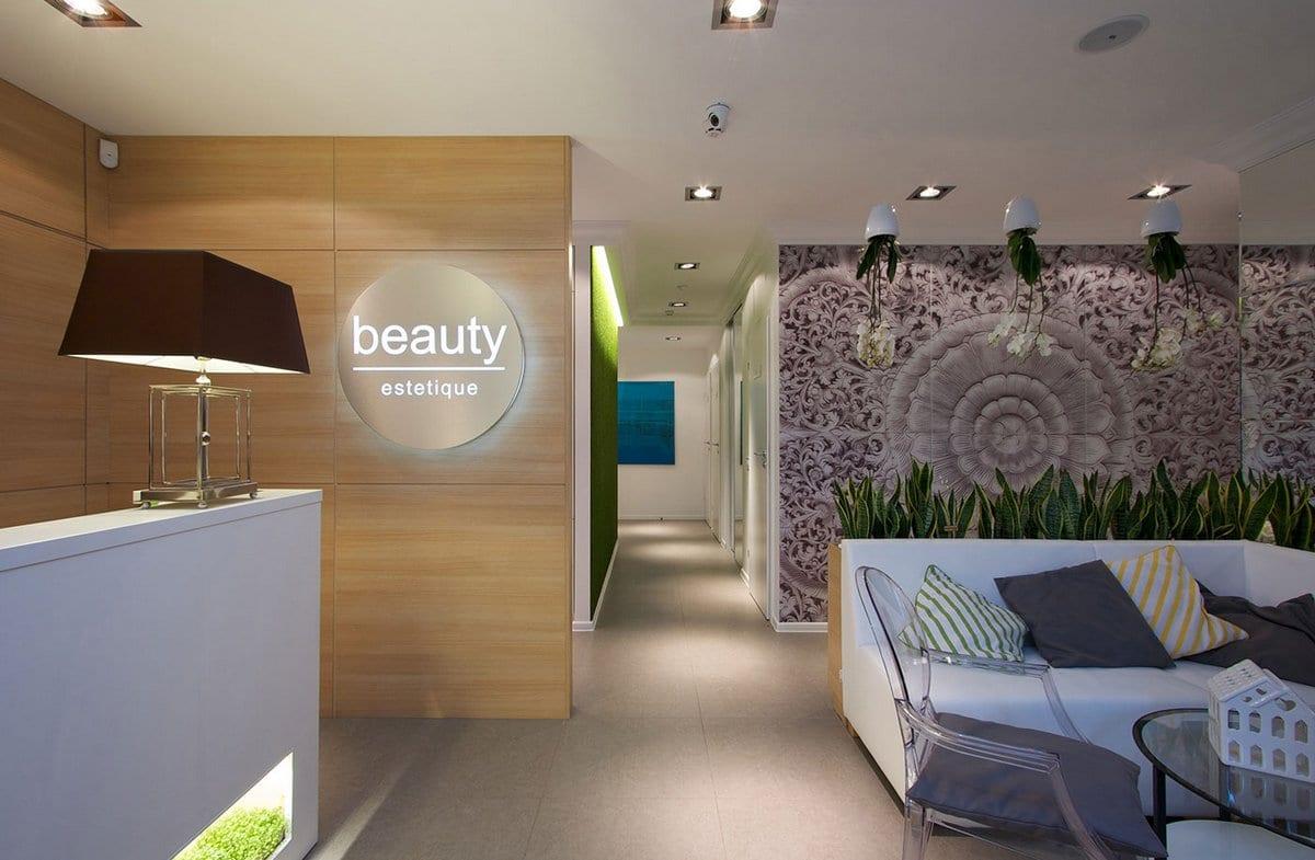 Оформление студии красоты Beauty Estetique