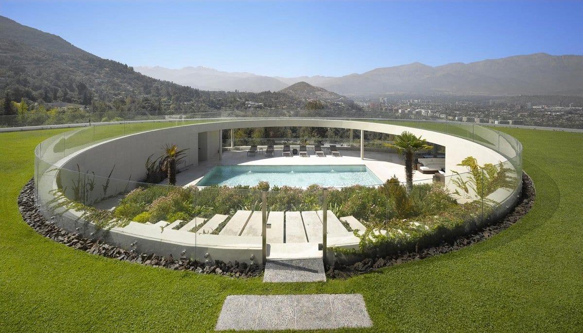 Ошеломляющий особняк в Чили