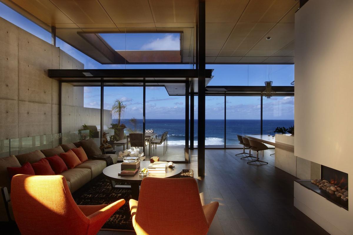Rolf Ockert Design, Bronte House, дом на берегу Тихого океана, дом с видом на океан, частный дом в Сиднее, дома Австралии, план частного дома