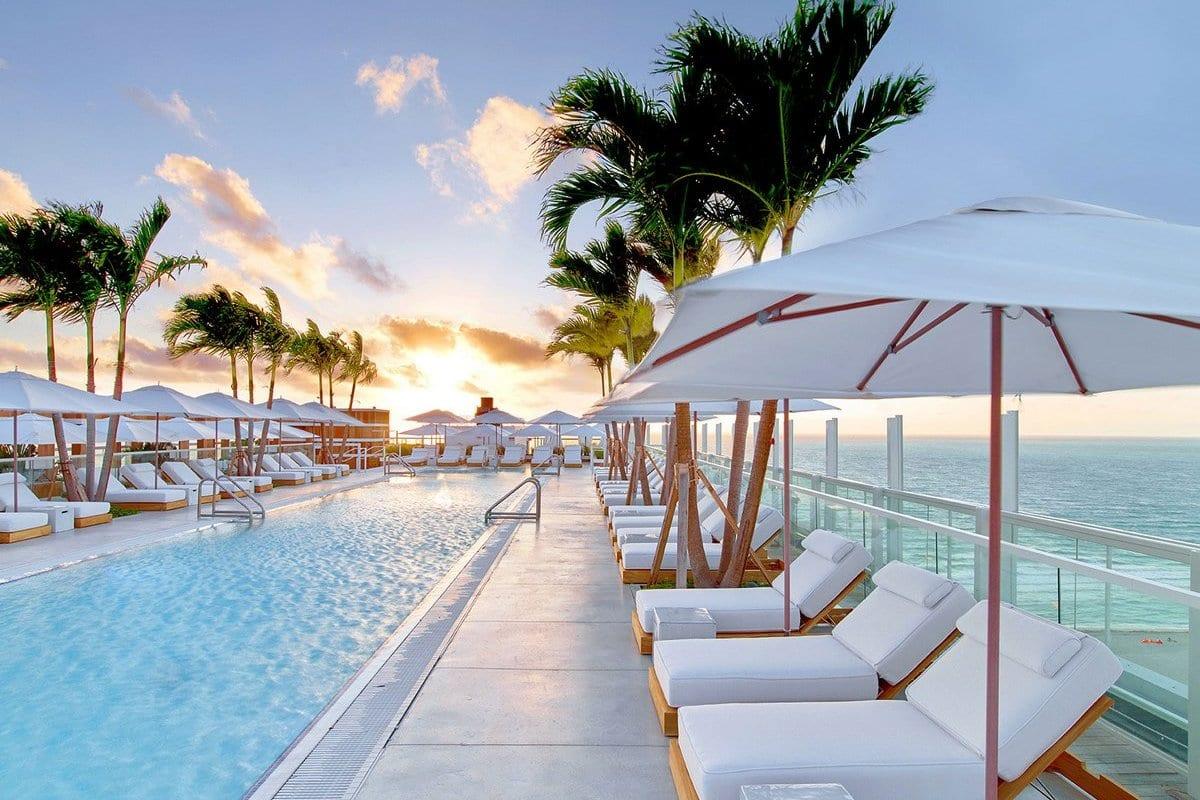 1 Hotel South Beach, Meyer Davis Studio Inc, обзоры лучших отелей мира, лучшие отели в Майами, роскошный отель в Майами, отель в South Beach Майами