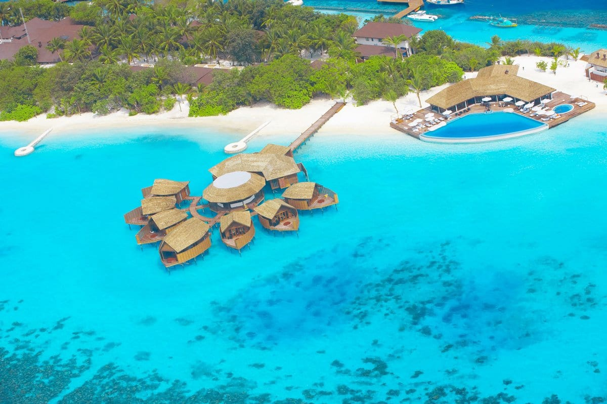 Lily Beach Resort & Spa, отель на Мальдивах, отель для молодоженов, лучший романтический отель, отель для влюбленных, свадебное путешествие на Мальдивах