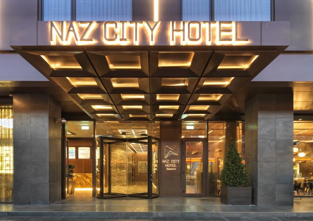 Отель Naz City Hotel в центре Стамбула
