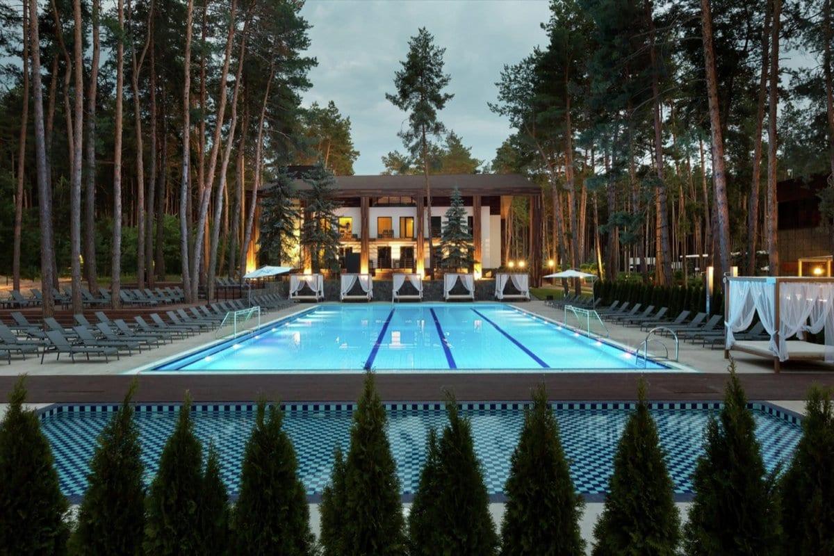 Отель Relax Park Verholy в Украине