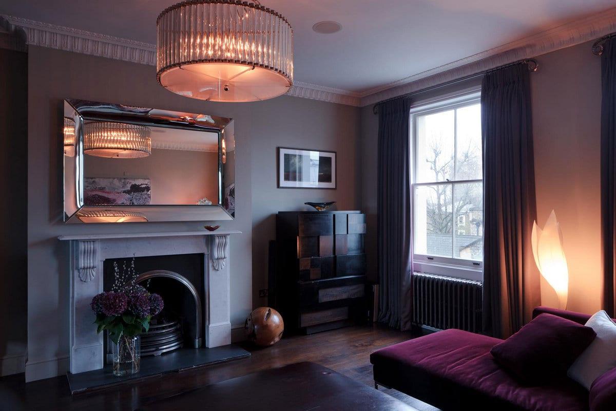 Staffan Tollgard Design Group, Notting Hill Residence, роскошный интерьер, интерьер люкс фото, роскошный интерьер дома фото, оформление ванной комнаты