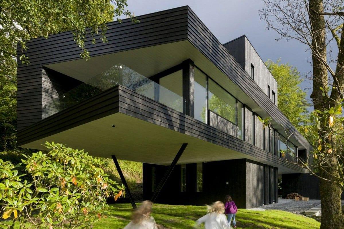 Парящая резиденция в Норвегии