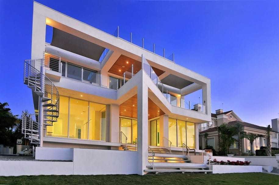 Picture Frame House от DSDG Inc. Architects во Флориде, США