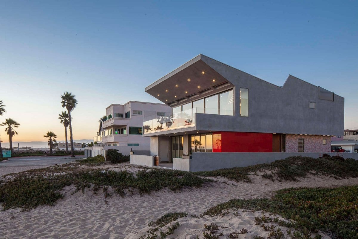 Пляжный дом в пригороде Лос-Анджелеса
