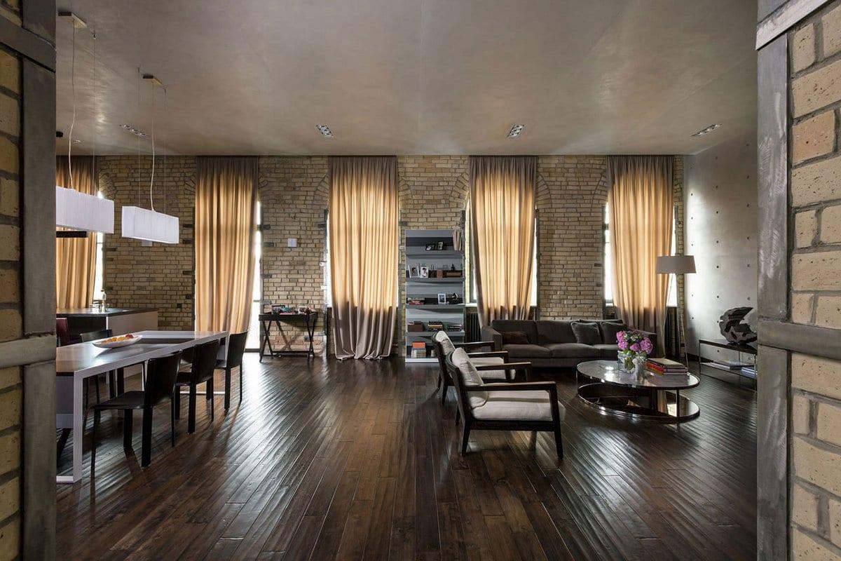 Сергей Махно, Подольский лофт, квартира в Киеве, уникальная квартира в Украине, дизайн интерьера квартиры в Киеве, квартира в стиле лофта,