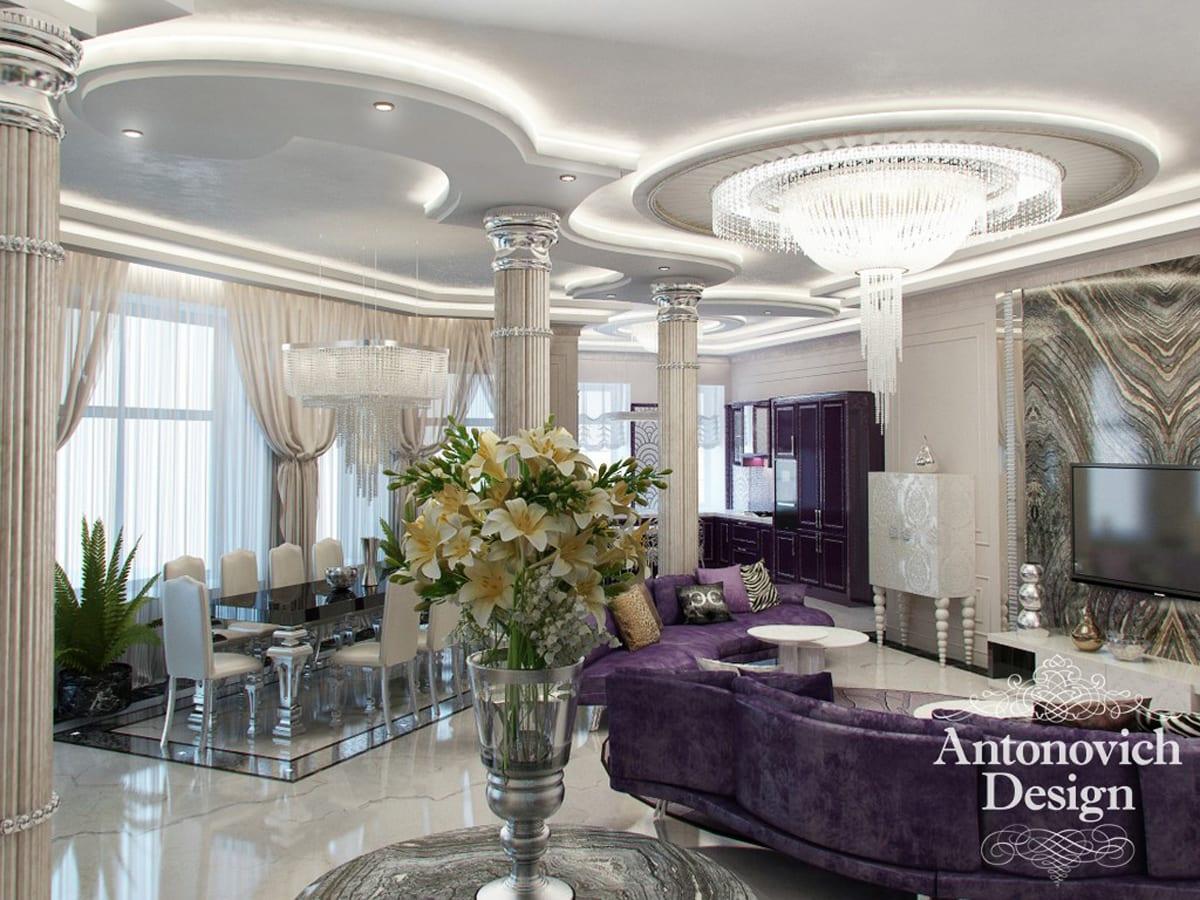 Праздник роскоши в стиле ар-деко от Antonovich Design