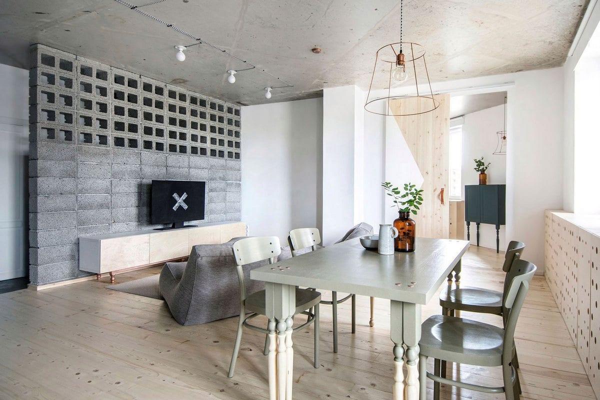 Простой дизайн квартиры в Санкт-Петербурге