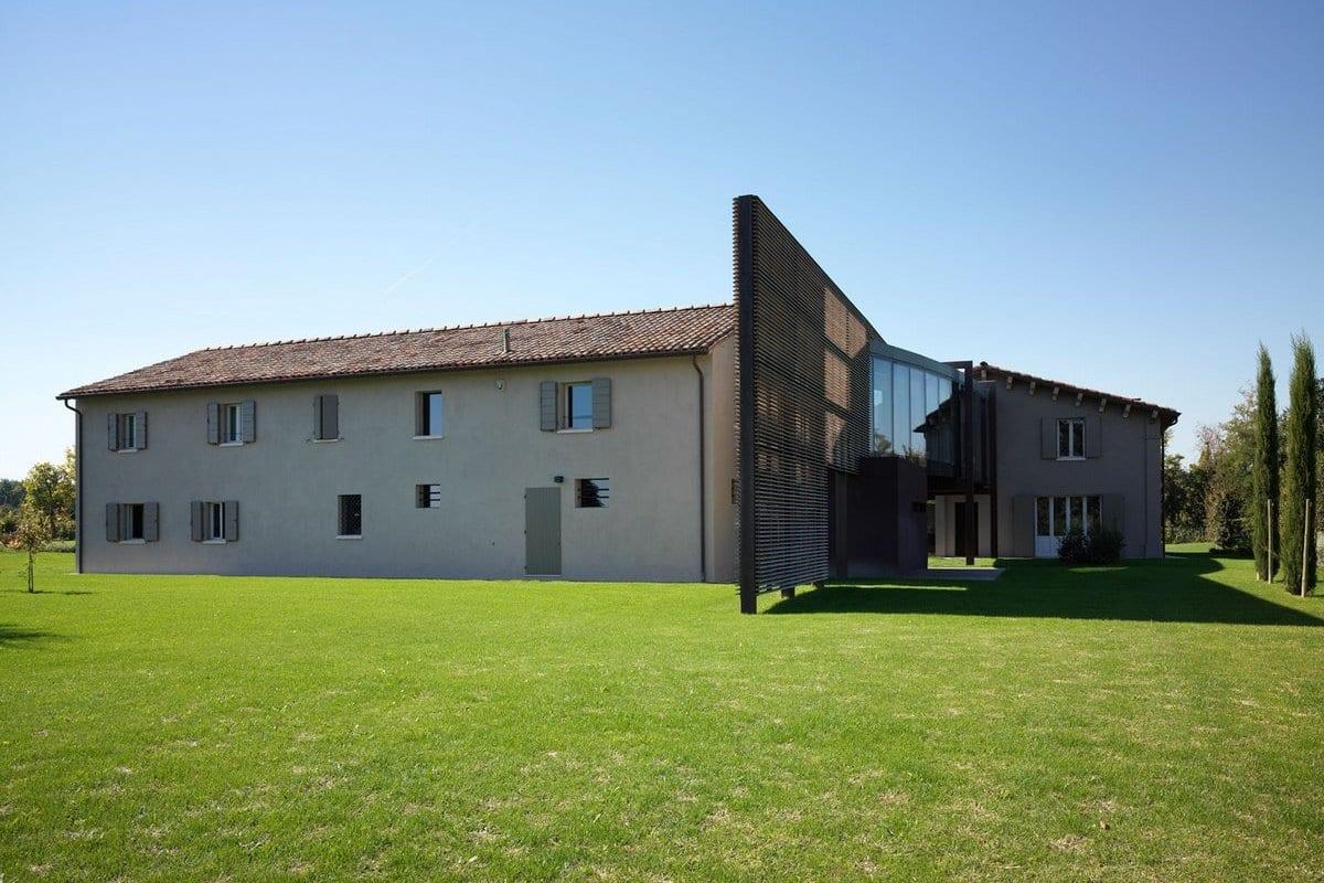 Реконструкция дома Casa Privata в Италии