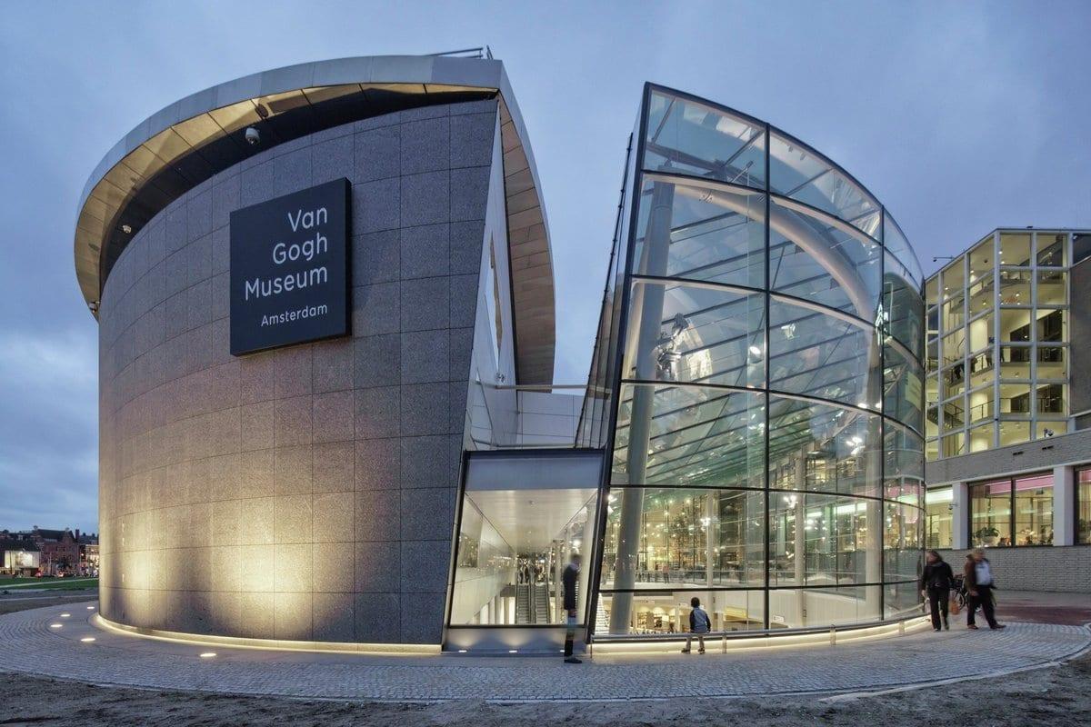 Реконструкция музея Ван Гога в Амстердаме