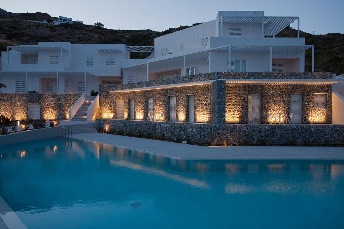A31 ARCHITECTURE, Relux Ios Hotel, отели в Греции, отель Relux Ios Hotel в Греции, отели на острове Иос, роскошные отели Греция, Relux Ios Hotel обзор
