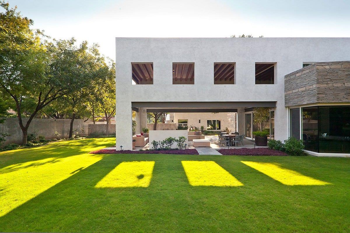 Реконструкция роскошной резиденции Casa Valle в Мексике