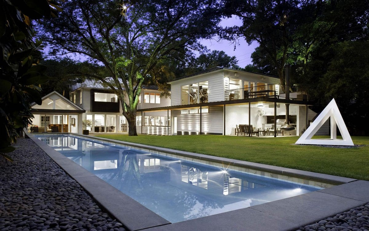 Residence 1414 — классика в современном исполнении в штате Техас