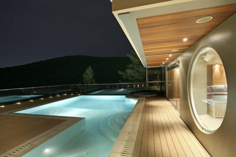 Резиденция Oikia Panorama в Афинах от Димитрис Эконому