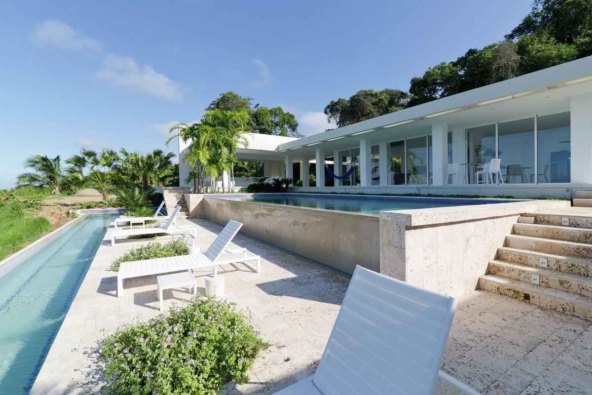 Резиденция на берегу Карибского моря
