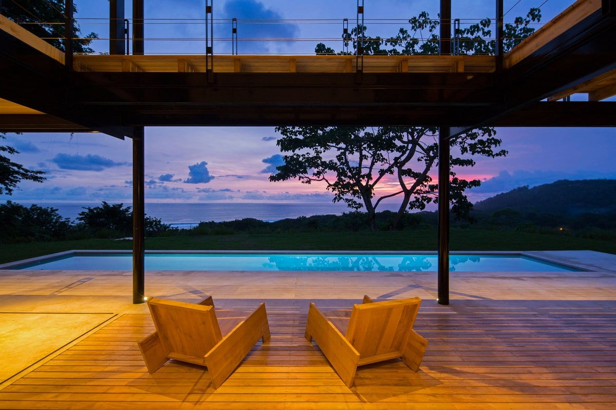 Резиденция на тихоокеанском побережье