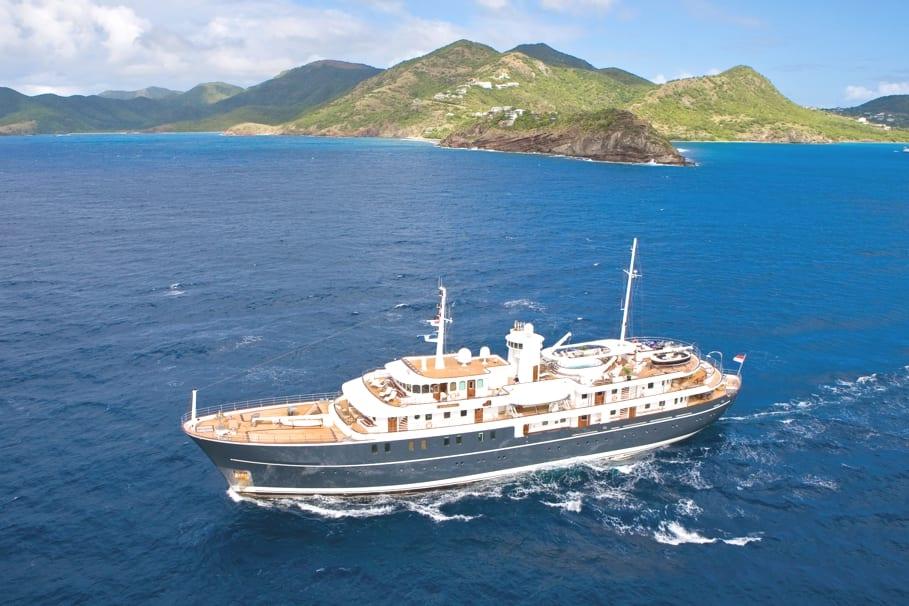 Роскошная яхта Sherakhan за 12.5 миллионов рублей в неделю