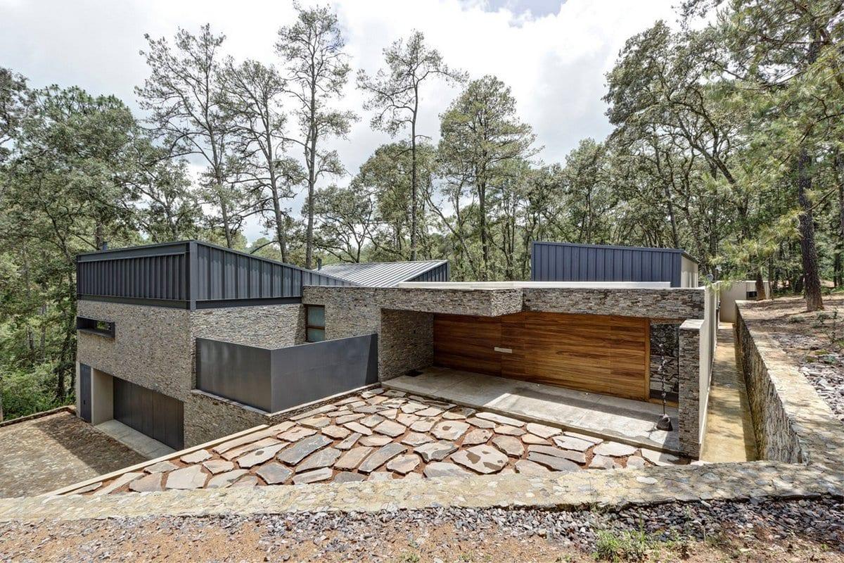 Семейная крепость — два дома братьев из Мексики