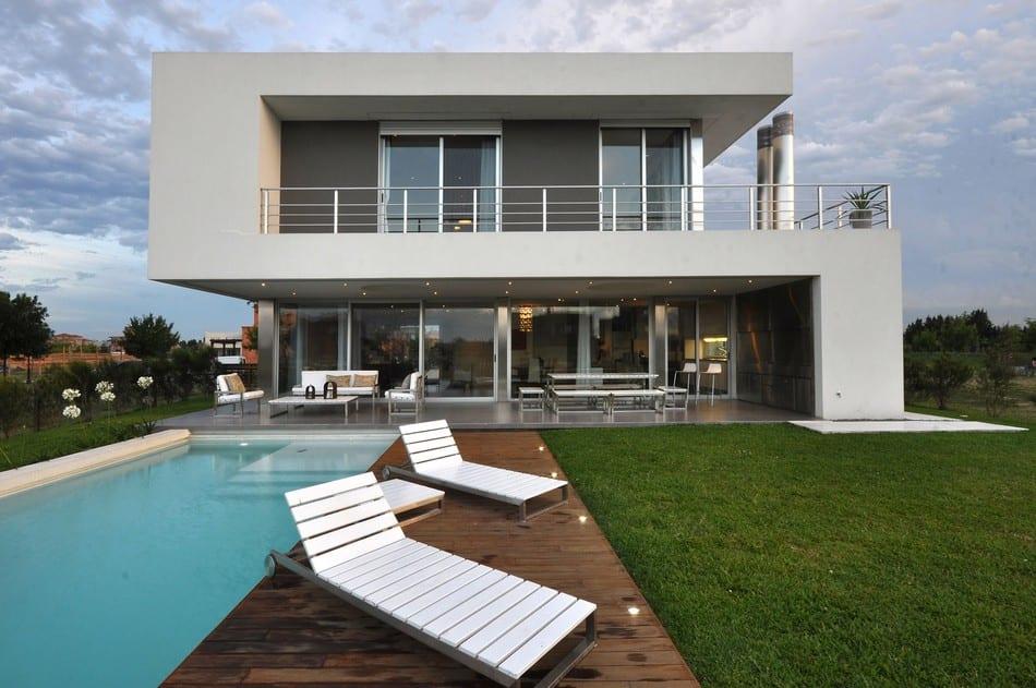 Современный минимализм в Аргентине от Vanguarda Architects