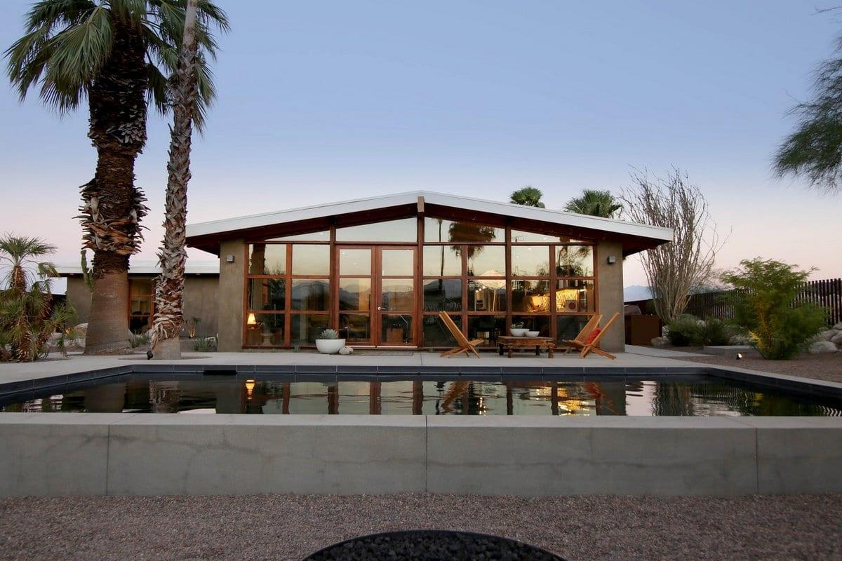 Современный американский дом в Палм-Спрингс