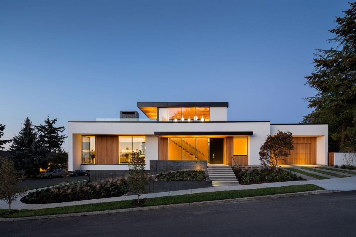 Современный дом в штате Орегон