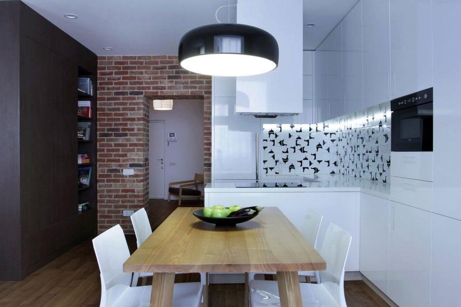 Стильная квартира-студия в Киеве от Lugerin Architects