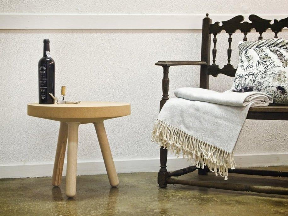Столик Rolha Side из пробкового дерева