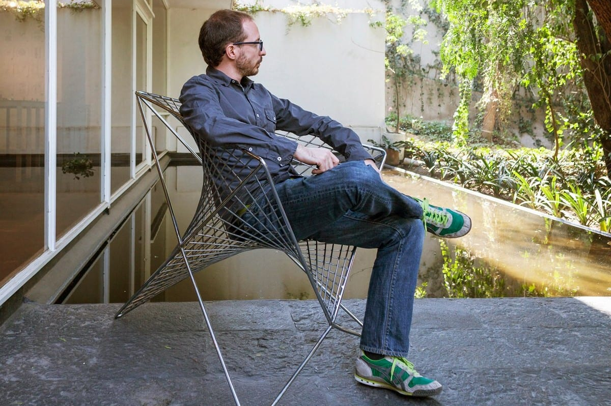 Стул-кресло Parabola Chair от Карло Айело